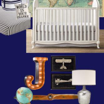 Mood Board Monday: Travel Inspired Nursery