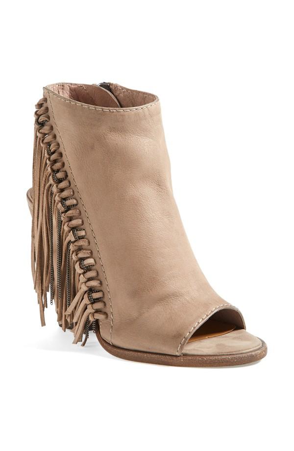 fall booties, fringe booties, fringe heels