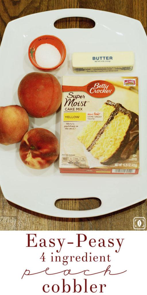 easy peach cobbler recipes, easy recipes, peach cobbler, summer flavors