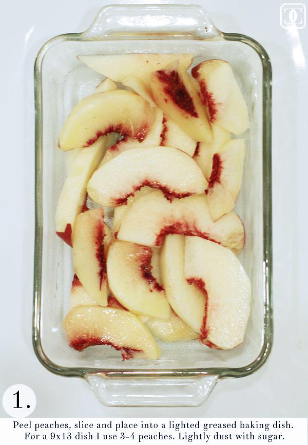 easy peach cobbler essentials