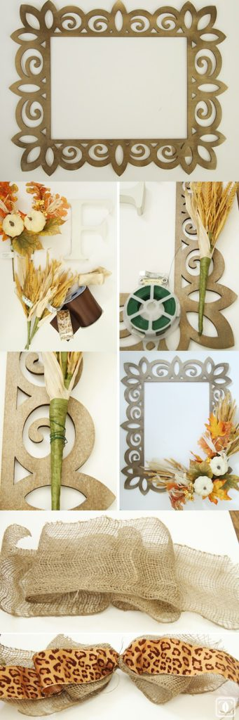 DIY wreath essentials, fall wreath supplies, fall decor