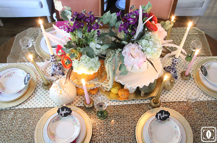 Thanksgiving decor, fall center pieces, thanksgiving table, DIY pumpkins, fall decor