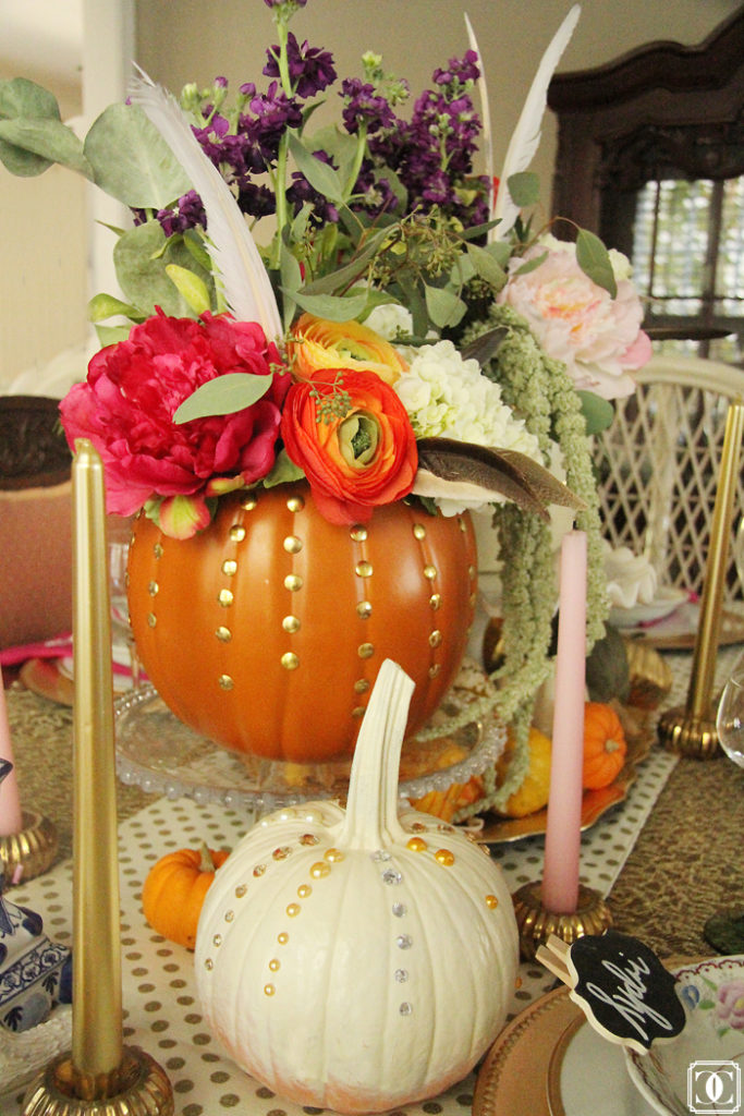 DIY pumpkins, fall home tour, fall decor, thanksgiving decor