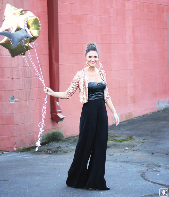 NYE outfits, sequin blazer, jumpsuit, black jumpsuit, new years style