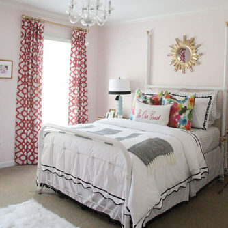 One Room Challenge: Guest Room // REVEAL