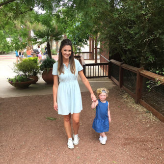 Our Day at the Zoo + Chambray Dresses