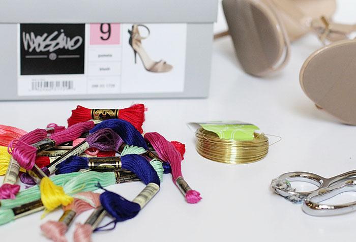 under $30 DIY, DIY tassel heels, tassel