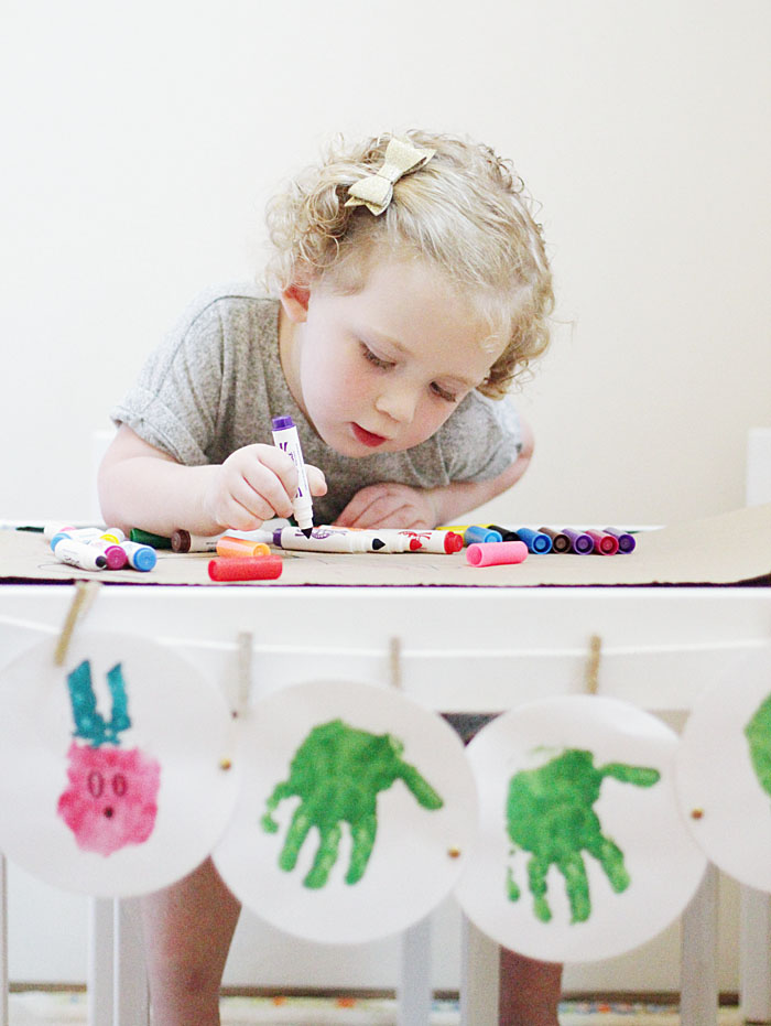 DIY Ikea Craft Table for kids - Ikea hack, DIY featured by popular Texas lifestyle blogger, Style Your Senses