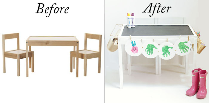 DIY IKEA HACK KIDS TABLE. Ikea Hack, DIY Featured By Popular Texas  Lifestyle Blogger, Style Your Senses