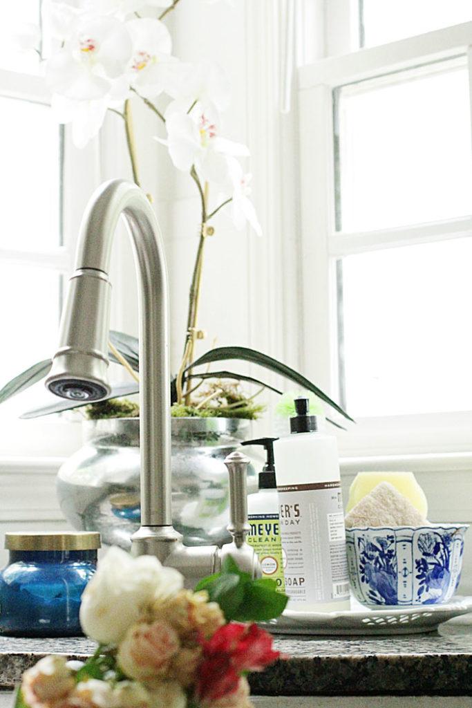 faux orchid, DIY orchid
