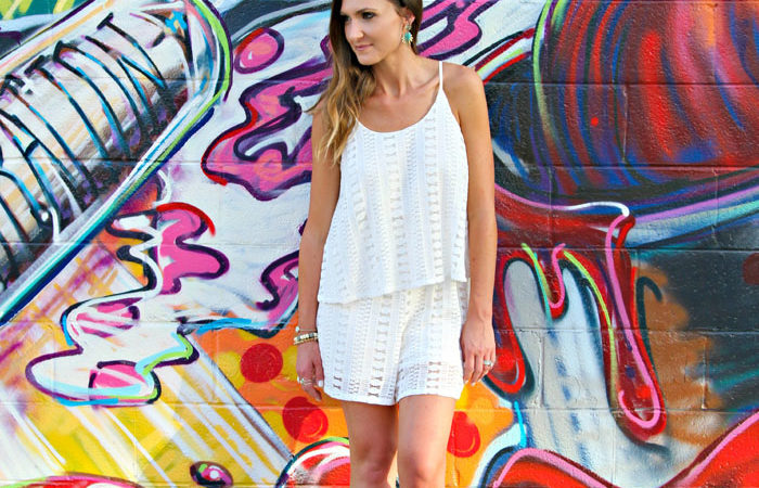 What We Wore: Eyelet + Lace