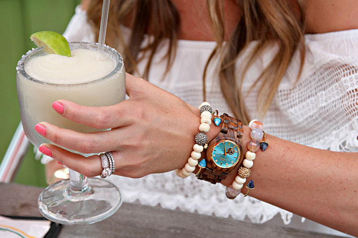 wood watches, jord watch, bracelet stack, margarita