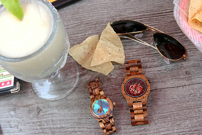 wood watches, jord watch, his and hers watch, date night