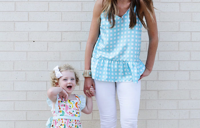 What We Wore: LaRoque Mommy + Me Style (and a GIVEAWAY!)