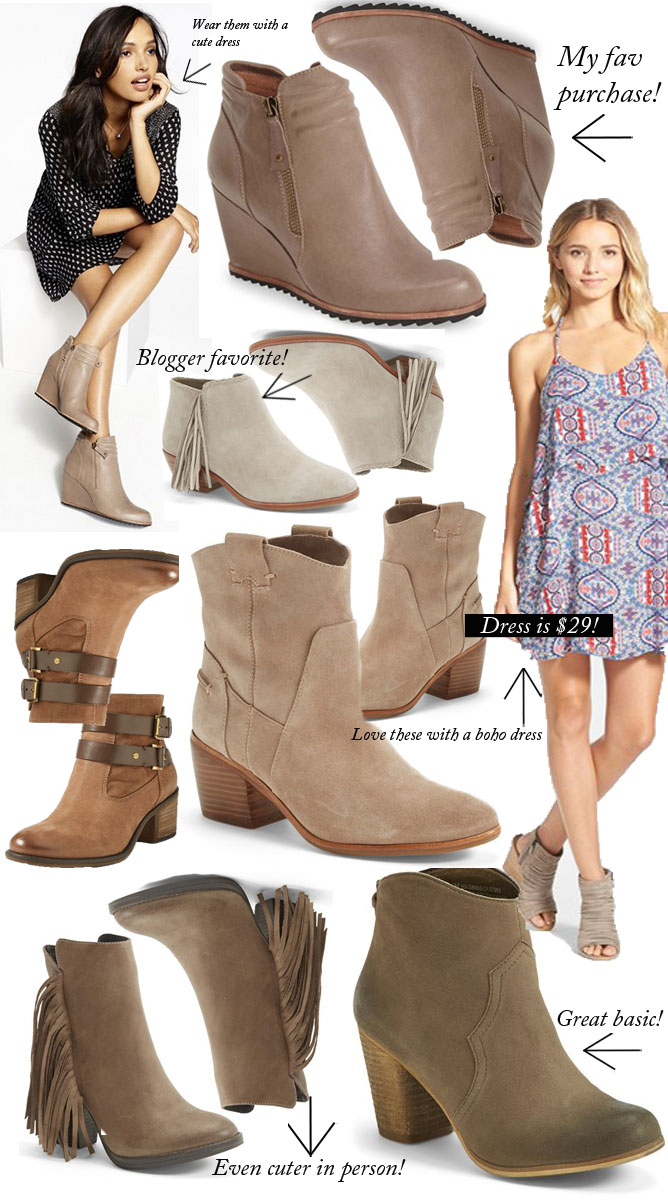 Fall Boots, Booties, fringe booties