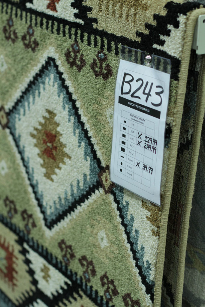aztec rug, boho rug, affordable rug