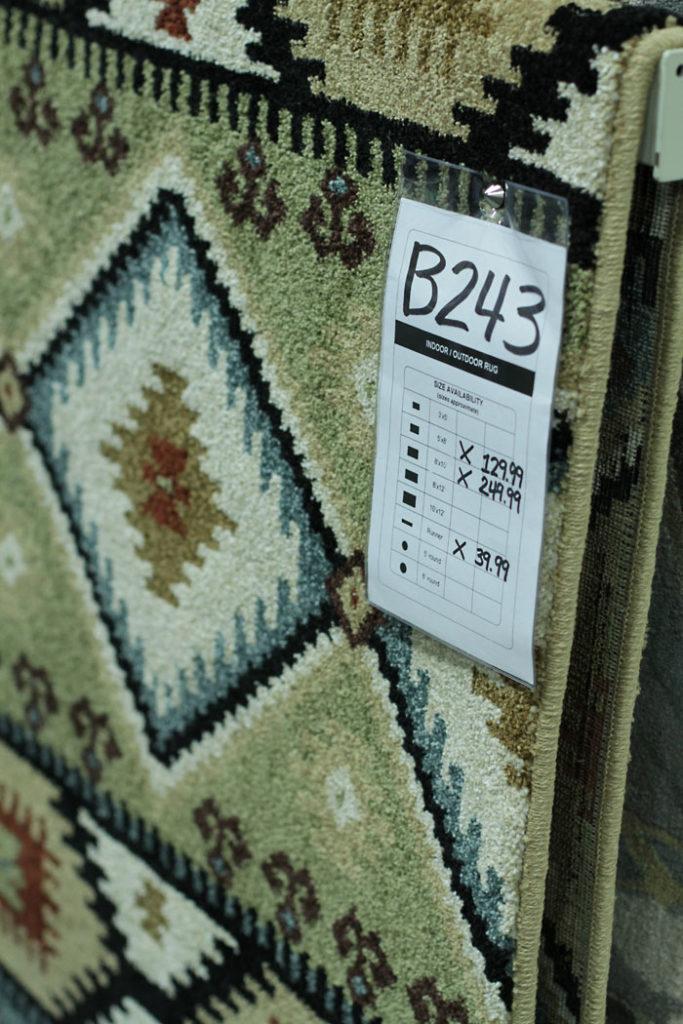 aztec rug, boho rug, affordable rug