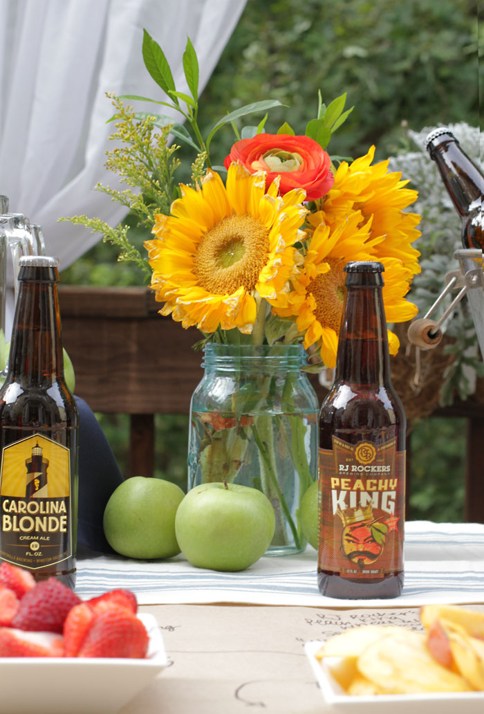 Craft Beer Party, Sunflower, World Market, Peach Beer