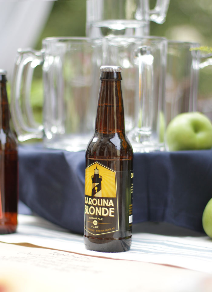 Craft Beer Party, Carolina Blonde, World Market, Outdoor Entertaining
