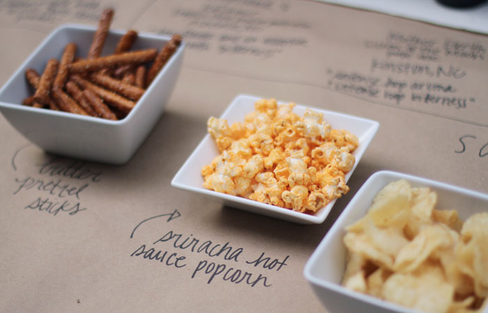 Craft Beer Party, World Market, Popcorn, DIY, Outdoor Entertaining