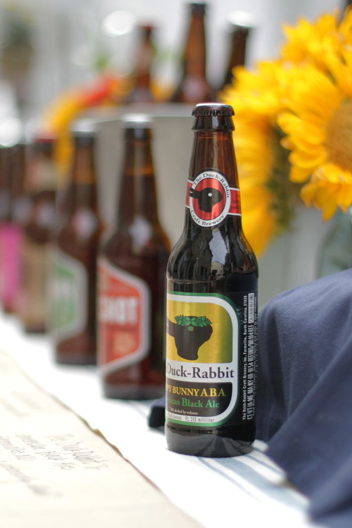 Craft Beer Tasting Party, World Market, Duck Rabbit