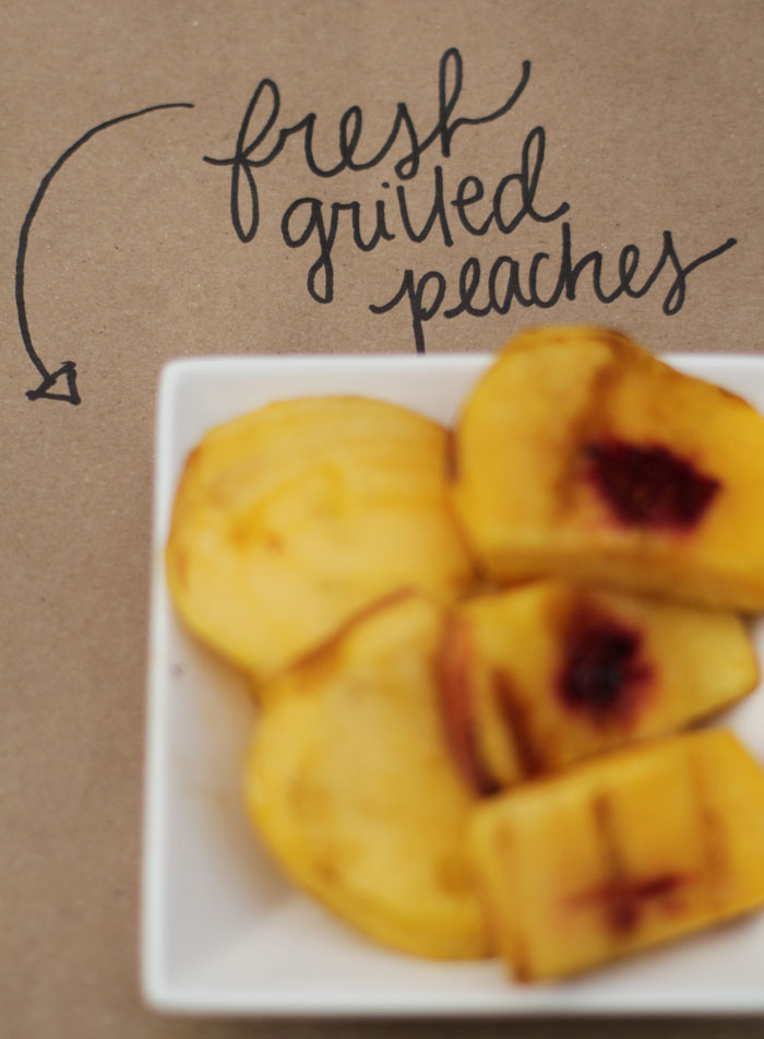 Craft Beer Party, Grilled Peaches, World Market