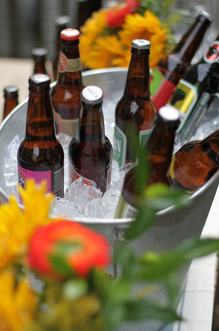 Craft Beer Tasting Party, World Market, Outdoor Entertaining
