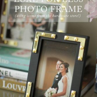 #DIYSummerSchool: DIY Photo Frame Upgrade!