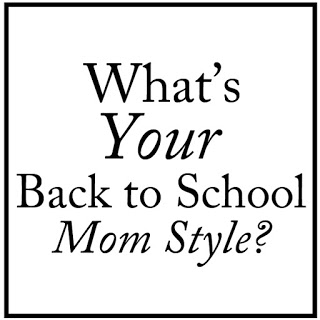 Back to school, mom style, chic mom