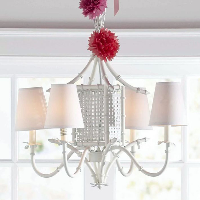 Pagoda Light, Pottery Barn Light