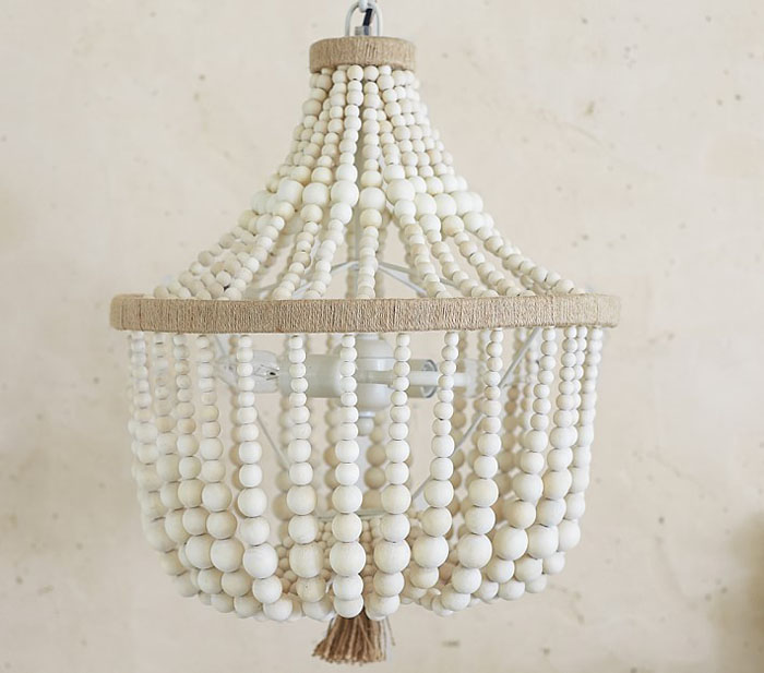 beaded chandelier, inexpensive beaded chandelier