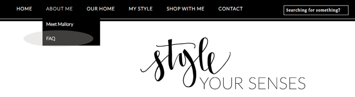 Style Your Senses, popular Dallas life and style blog