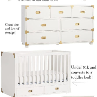 campaign furniture, sale, pottery barn kids
