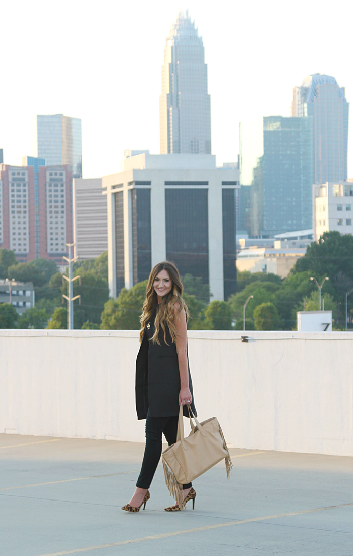 Trench vest, Long Vest, How to wear a long vest, Fall trend