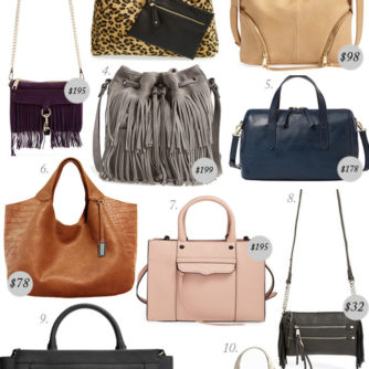 10 Handbags For Fall UNDER $250