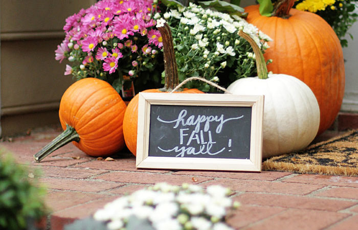 Fall Home Tour Part 2 | Outdoor Spaces