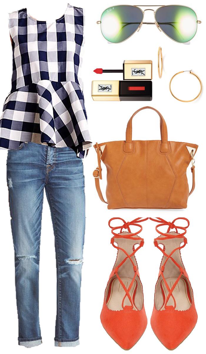 Fall Fashion, Buffalo Check, Boyfriend Denim