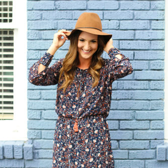 Midi Dress, Floral, Folk, 70's, Fall Style, Trend, WAYF