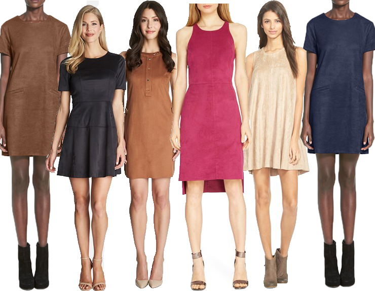 suede, fall, fall fashion, suede dresses, fashion trend