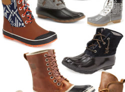 Duck Boots, Winter Shoes, All Weather Shoes, Sorel, Sperry