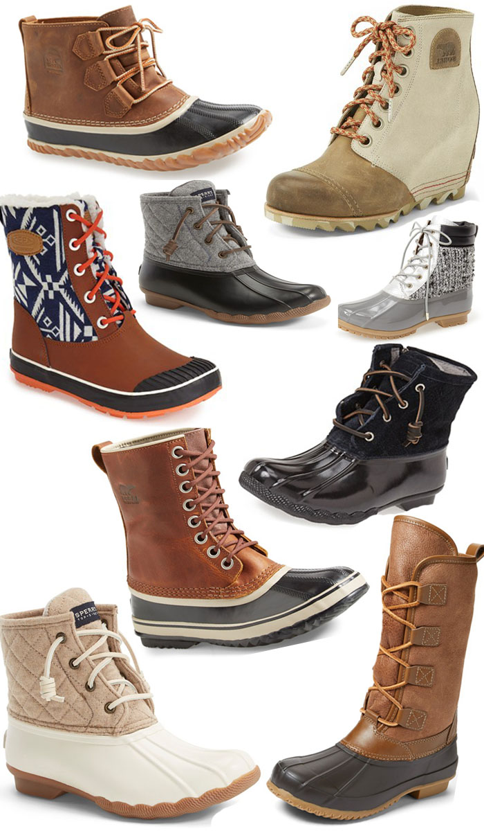 trend to try  duck boots