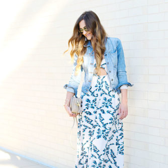 Rachel Pally, Maxi Dress, Fall Style, Tassel Earrings, GiGi New York