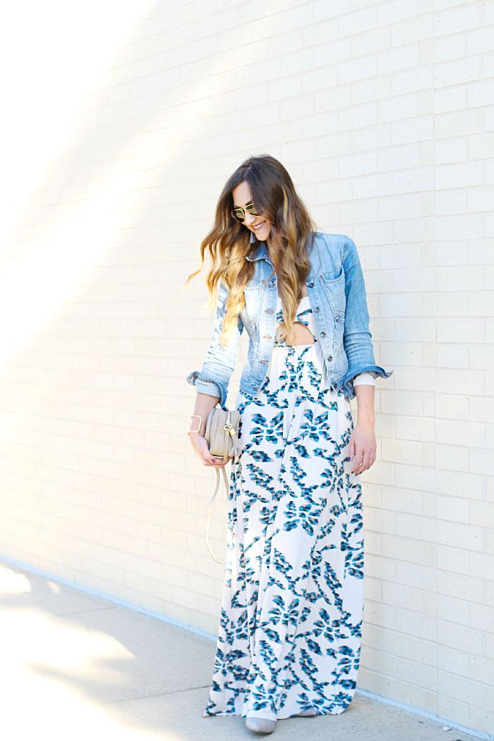 Rachel Pally, Maxi Dress, Fall Style, Tassel Earrings, GiGi New York