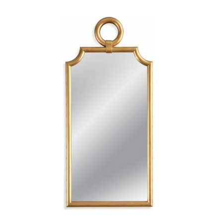 mirror, bassett mirror company, gold mirror, full length mirror