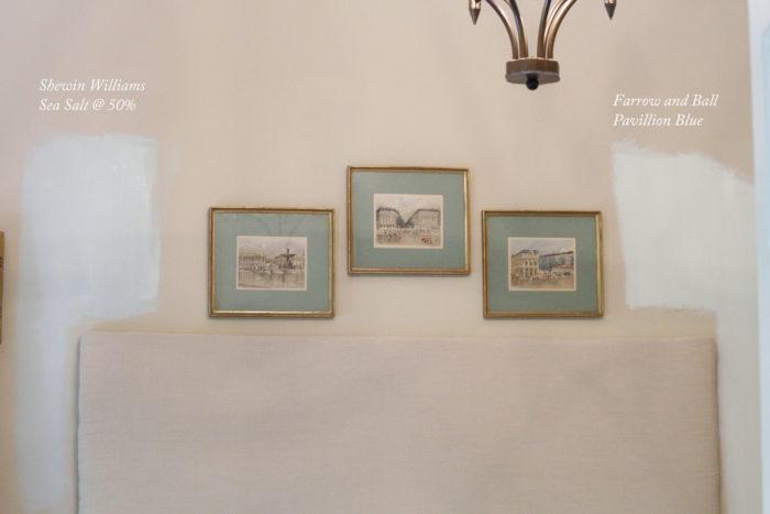 Sherwin Williams Sea Salt, Farrow And Ball Pavillion Blue, Paint, Interior  Paint