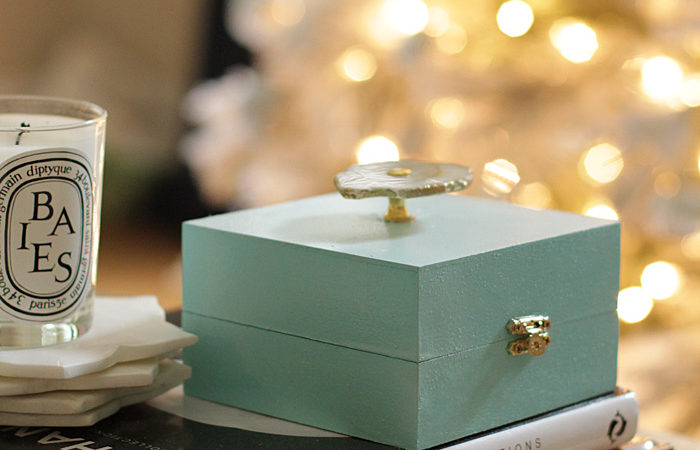DIY Agate Gift Card Box