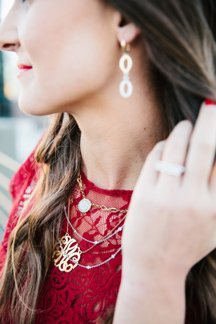 Morrison Smith, Jewelry, Blogger, Holiday Dress