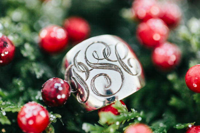 Morrison Smith, Jewelry, Blogger, Holiday Dress, monogram