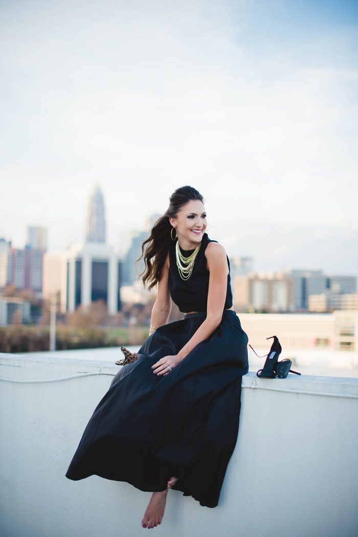 black dress, little black dress, fashion blogger, ball gown, formal, black tie