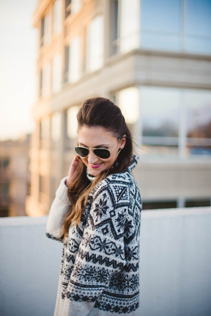 fair isle, sweater, blogger, style